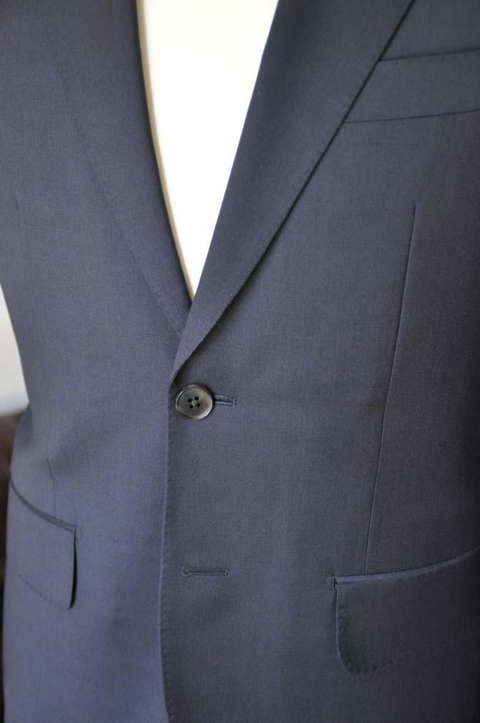 DSC04302 お客様のスーツの紹介- Biellesi 無地ネイビースーツ-