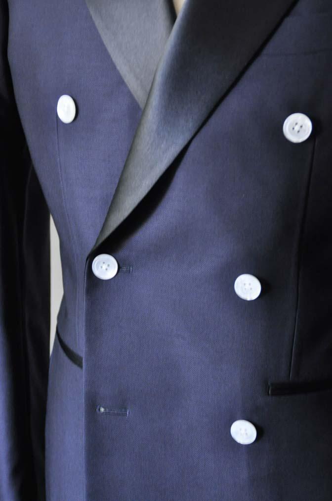 DSC0434-2 お客様のウエディング衣装の紹介- Biellesiネイビーダブルタキシード-DSC0434-2 お客様のウエディング衣装の紹介- Biellesiネイビーダブルタキシード- 名古屋市のオーダータキシードはSTAIRSへ
