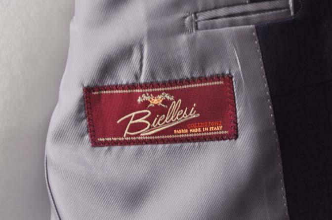 DSC04354 お客様のスーツの紹介-Biellesi ネイビーウィンドペン- 名古屋の完全予約制オーダースーツ専門店DEFFERT