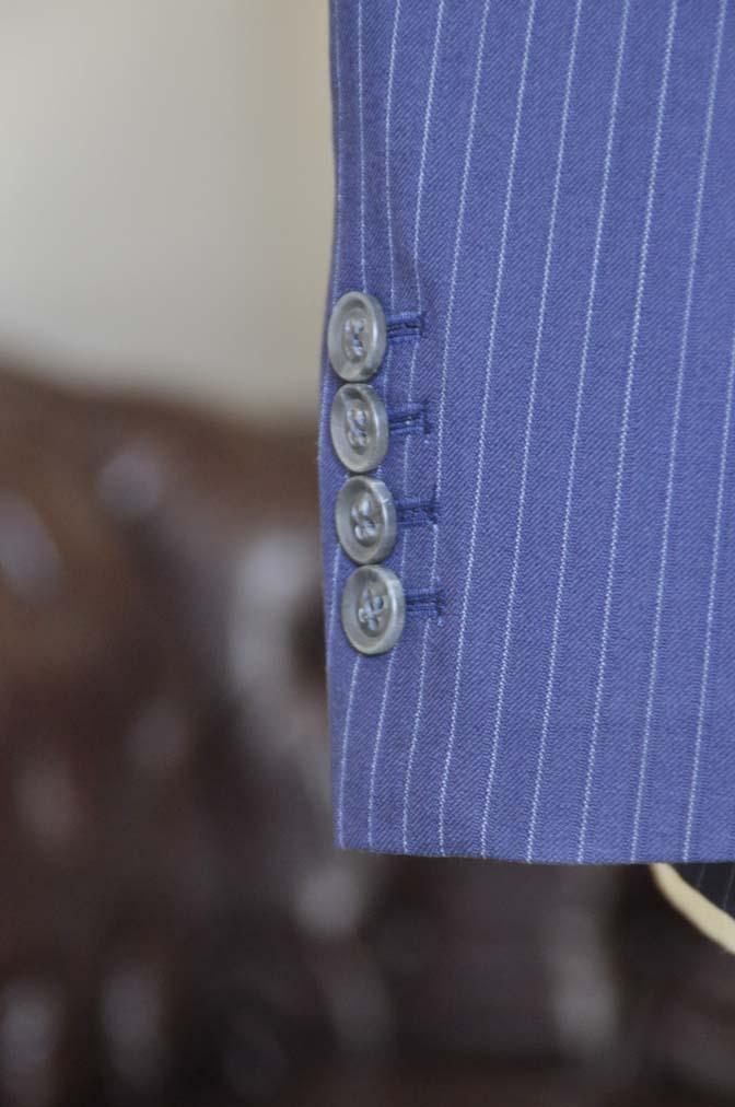 DSC0436-3 お客様のスーツの紹介-ネイビーストライプスーツ-
