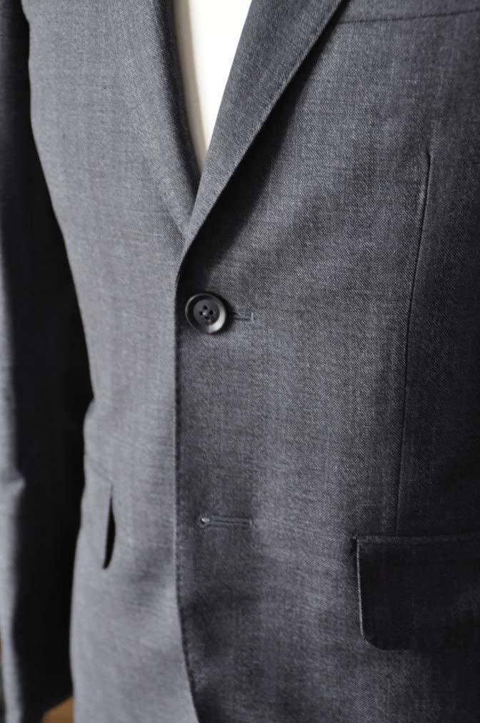 DSC0436-4 お客様のジャケットの紹介-Biellesi グレーヘリンボーンジャケット- 名古屋の完全予約制オーダースーツ専門店DEFFERT