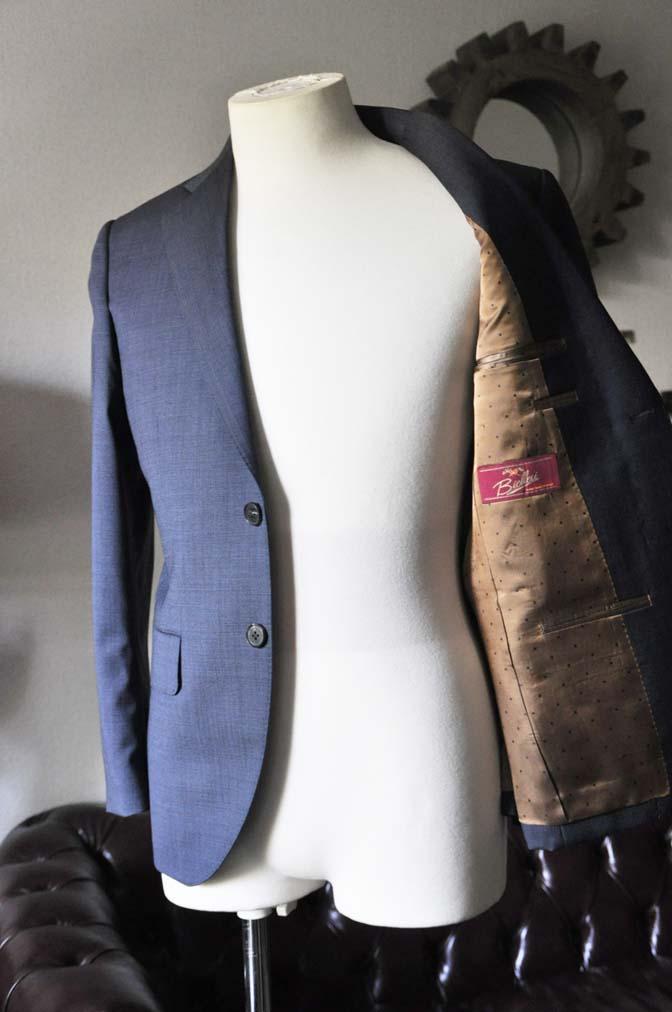 DSC0437-1 お客様のスーツの紹介- Biellesi 無地ネイビースーツ- 名古屋の完全予約制オーダースーツ専門店DEFFERT