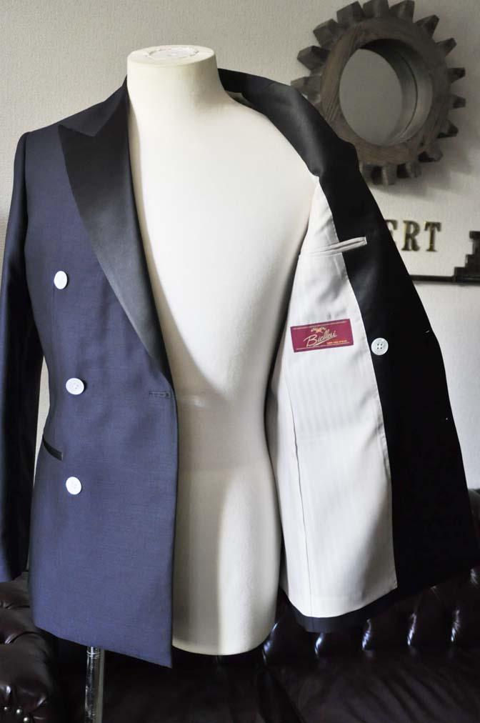 DSC0439-1 お客様のウエディング衣装の紹介- Biellesiネイビーダブルタキシード-DSC0439-1 お客様のウエディング衣装の紹介- Biellesiネイビーダブルタキシード- 名古屋市のオーダータキシードはSTAIRSへ