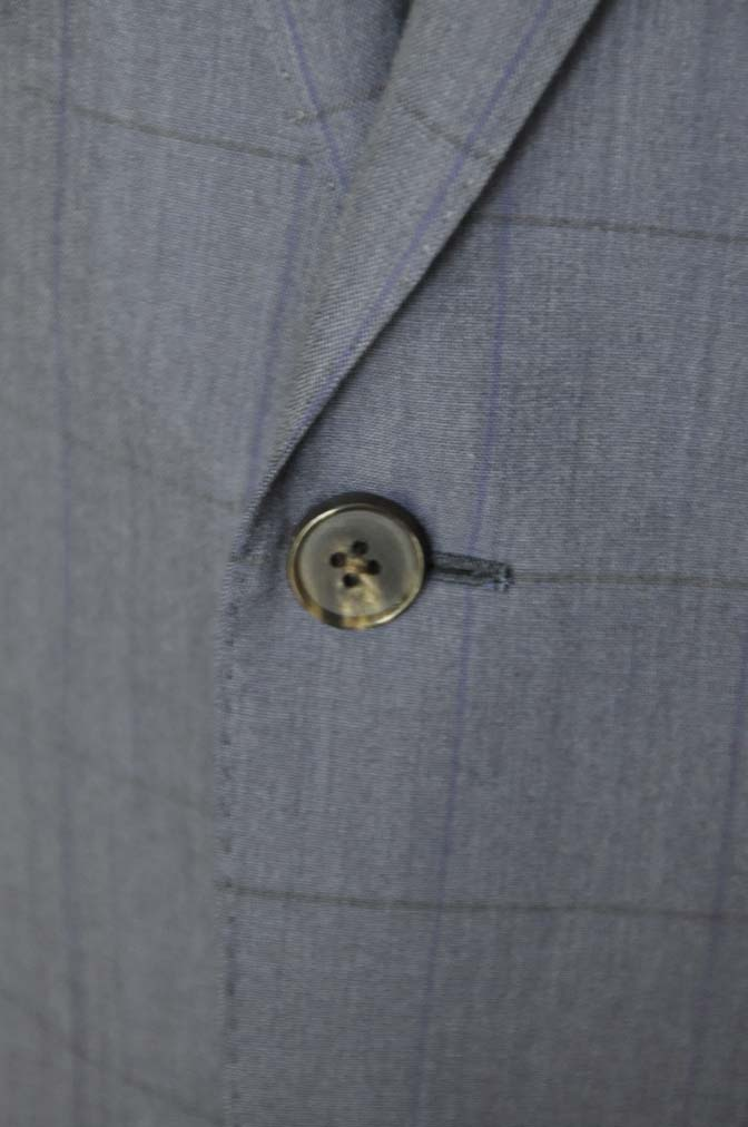DSC04391 お客様のスーツの紹介-Biellesi ネイビーウィンドペン- 名古屋の完全予約制オーダースーツ専門店DEFFERT