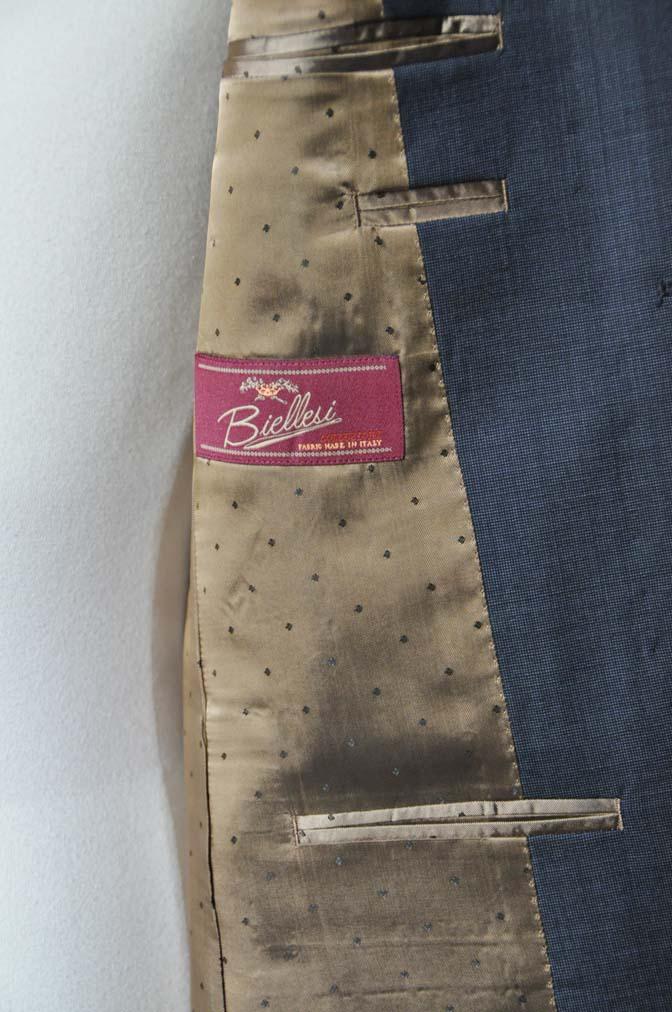 DSC0440-2 お客様のスーツの紹介- Biellesi 無地ネイビースーツ- 名古屋の完全予約制オーダースーツ専門店DEFFERT