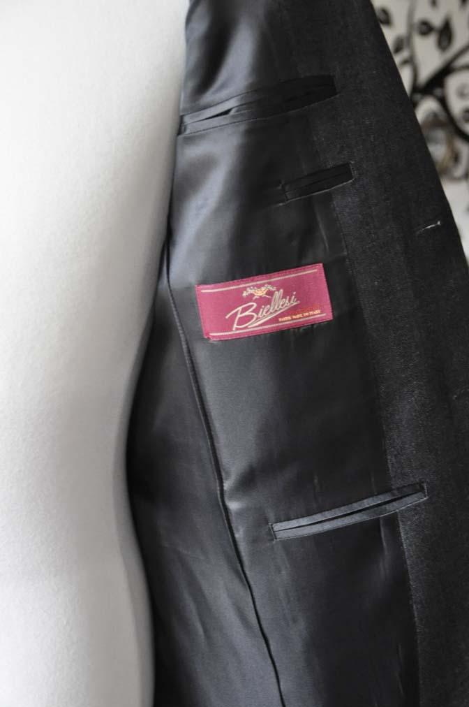 DSC0440-6 お客様のジャケットの紹介-Biellesi グレーヘリンボーンジャケット- 名古屋の完全予約制オーダースーツ専門店DEFFERT