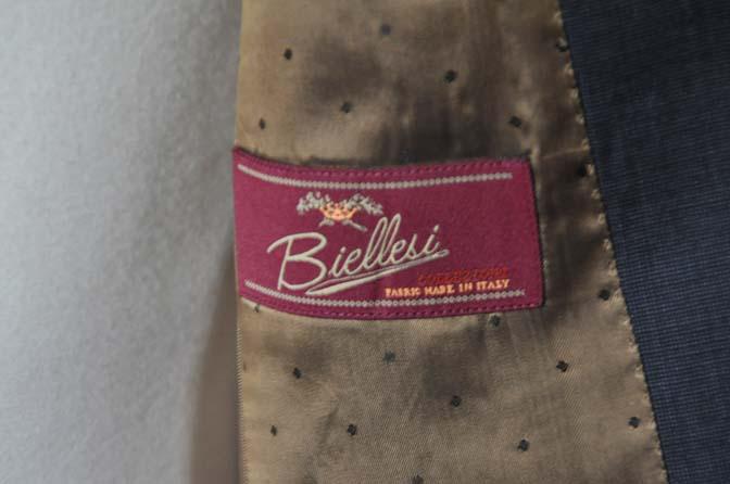 DSC0441-2 お客様のスーツの紹介- Biellesi 無地ネイビースーツ- 名古屋の完全予約制オーダースーツ専門店DEFFERT