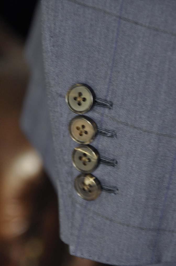 DSC04411 お客様のスーツの紹介-Biellesi ネイビーウィンドペン- 名古屋の完全予約制オーダースーツ専門店DEFFERT