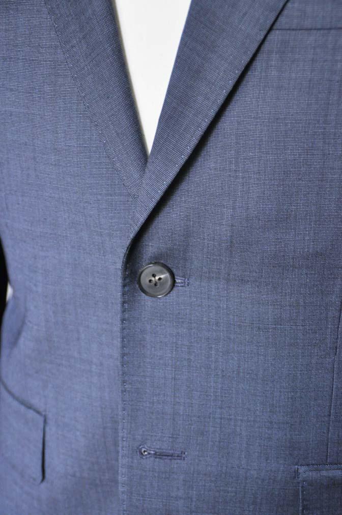 DSC0445-2 お客様のスーツの紹介- Biellesi 無地ネイビースーツ-