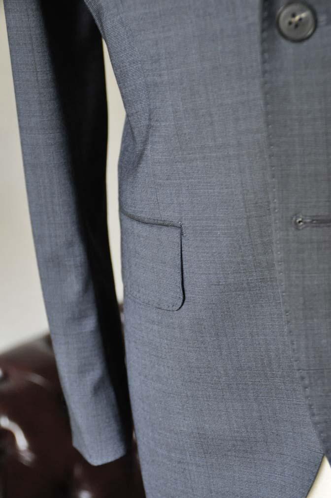DSC0446-2 お客様のスーツの紹介- Biellesi 無地ネイビースーツ-