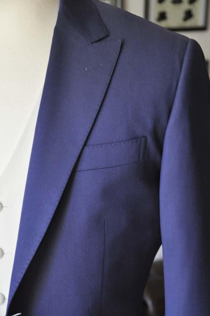 DSC0447-1 お客様のウエディング衣装の紹介- Biellesi ネイビースーツ ホワイトベスト-