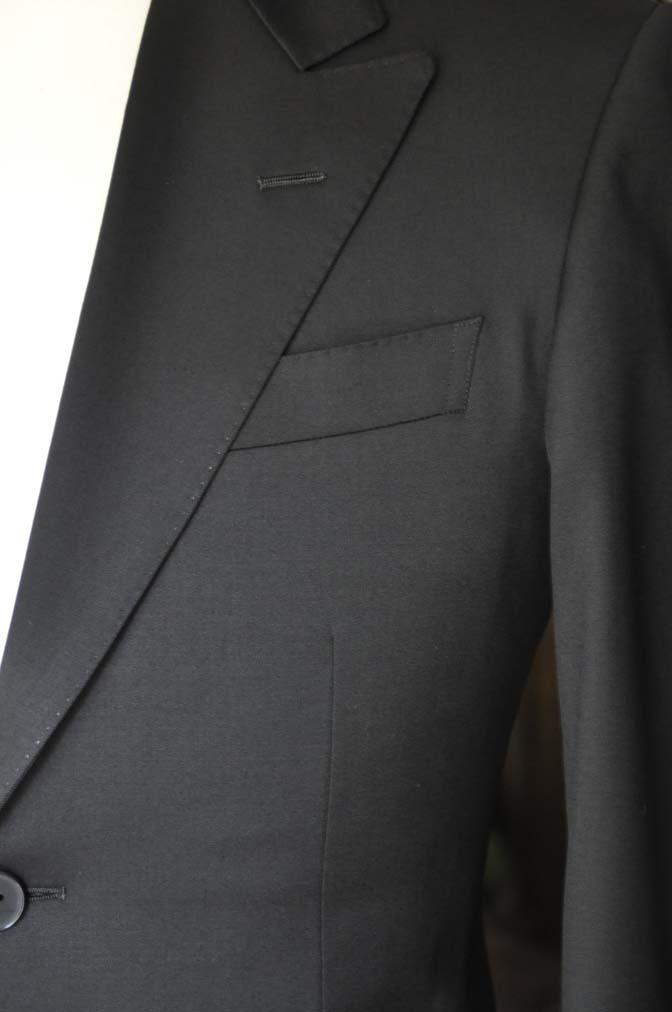 DSC0447 お客様のスーツの紹介-Biellesi ブラックスーツ-
