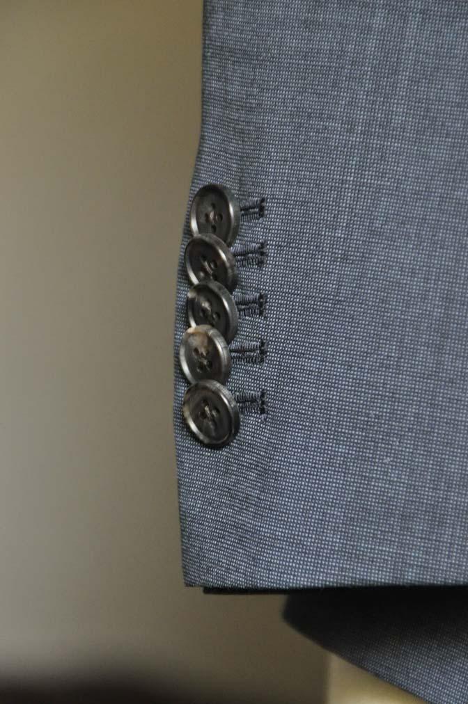 DSC0448-5 お客様のスーツの紹介- Biellesi 無地ネイビースーツ-