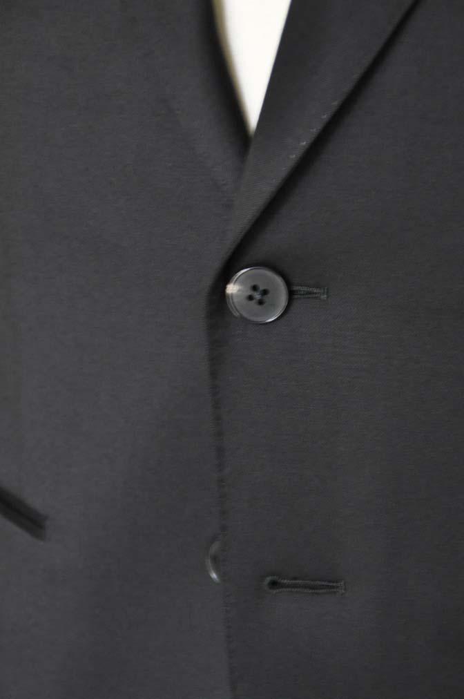 DSC04491 お客様のスーツの紹介-Biellesi ブラックスーツ-