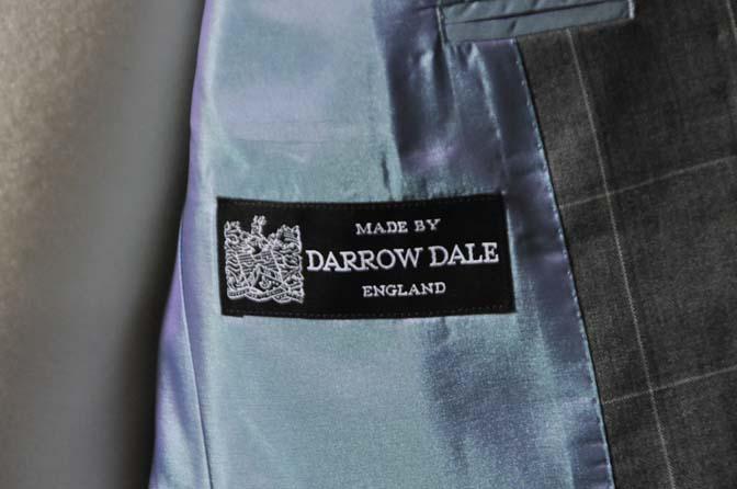 DSC0455-1 お客様のスーツの紹介- DARROW DALE グレーウィンドペン-