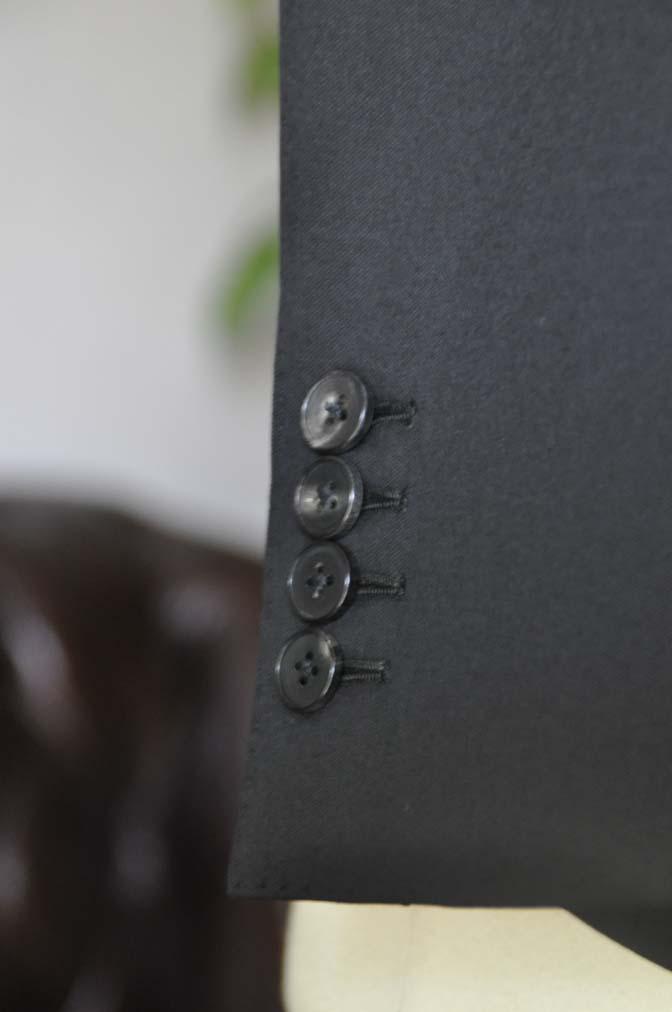 DSC0455 お客様のスーツの紹介-Biellesi ブラックスーツ-
