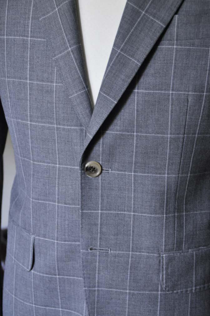 DSC0459-1 お客様のスーツの紹介- DARROW DALE グレーウィンドペン-