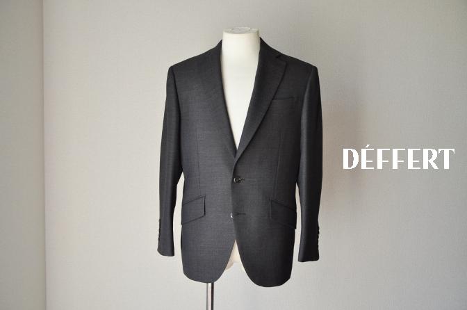 DSC04672 お客様のスーツの紹介-ブラウンバーズアイ スーツ-