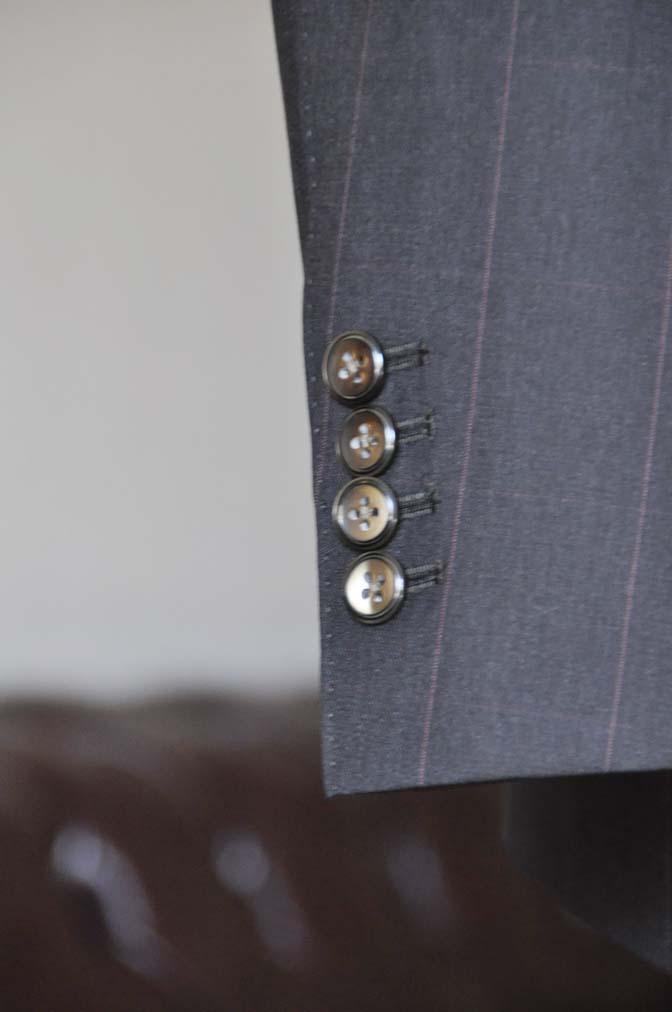 DSC0471-4 お客様のスーツの紹介-Biellesiダークブラウンウィンドペン スリーピース-