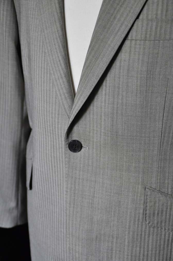 DSC0473-2 お客様のスーツの紹介- Biellesi ライトブラウンヘリンボーンスーツ-