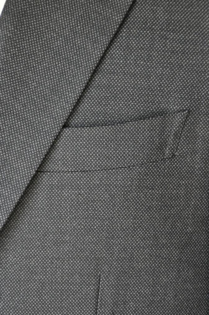 DSC0474 お客様のスーツの紹介-ブラウンバーズアイ スーツ-