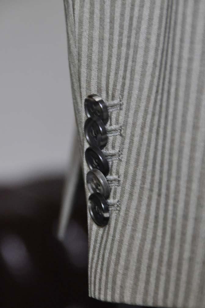 DSC0476-1 お客様のスーツの紹介- Biellesi ライトブラウンヘリンボーンスーツ-