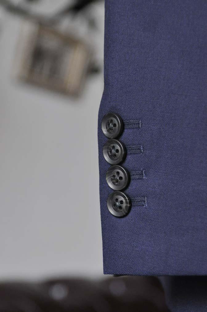 DSC0479-4 お客様のスーツの紹介-Biellesi無地ネイビースーツ-