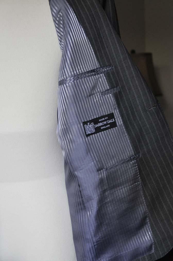 DSC0483-3 お客様のスーツの紹介- DARROW DALE グレーストライプスーツ-