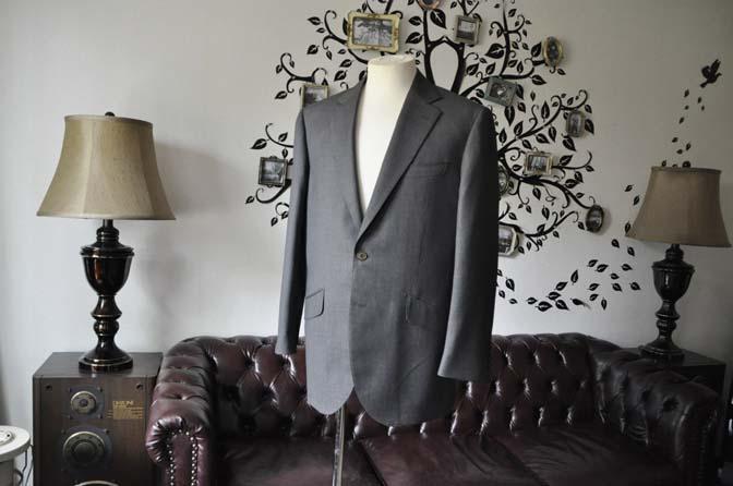 DSC0485-5 お客様のスーツの紹介-Biellesiグレーバーズアイスーツ-