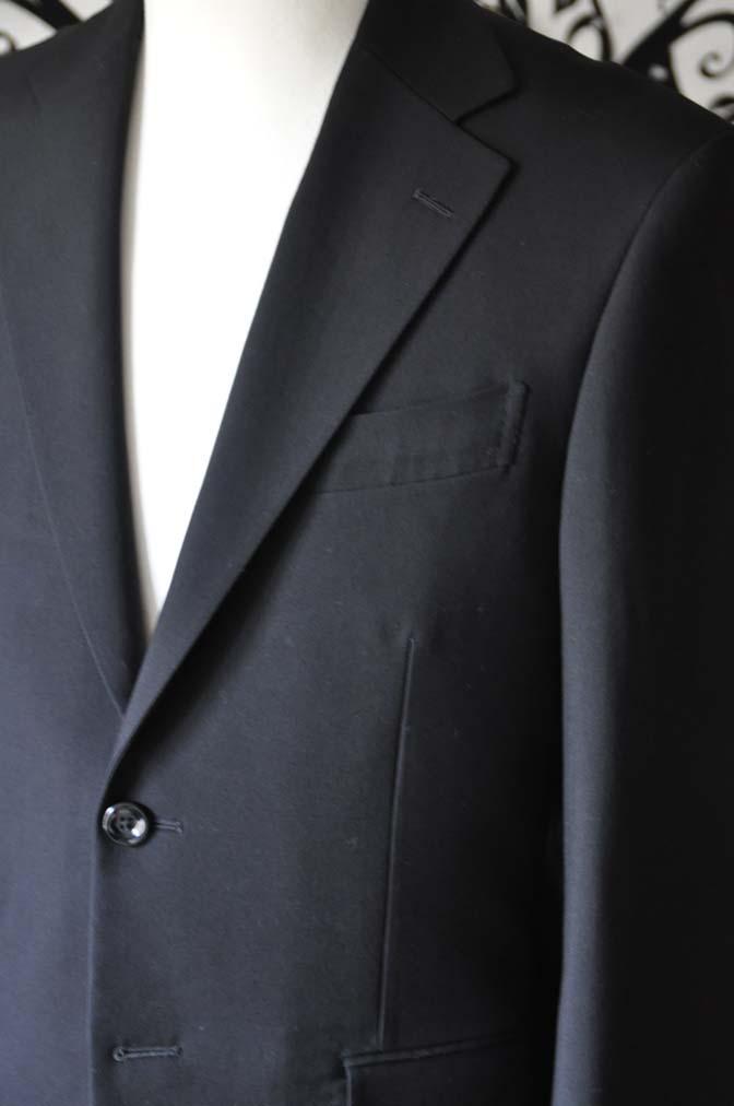 DSC0490-6 お客様のスーツの紹介-無地ブラックスーツ-