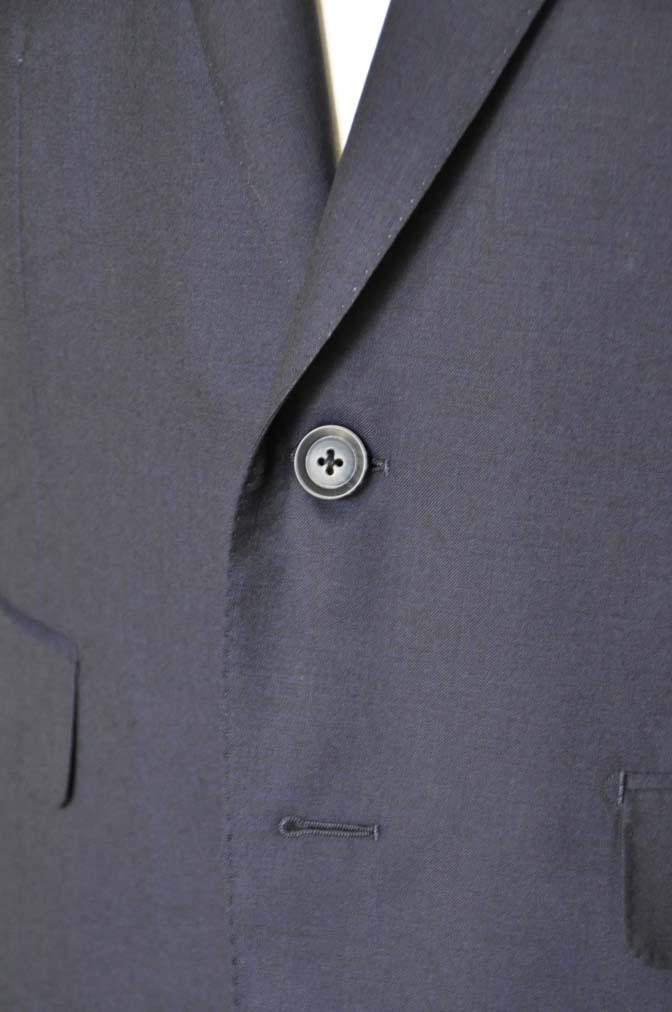 DSC04902 お客様のスーツの紹介-Biellesi 無地ネイビー-