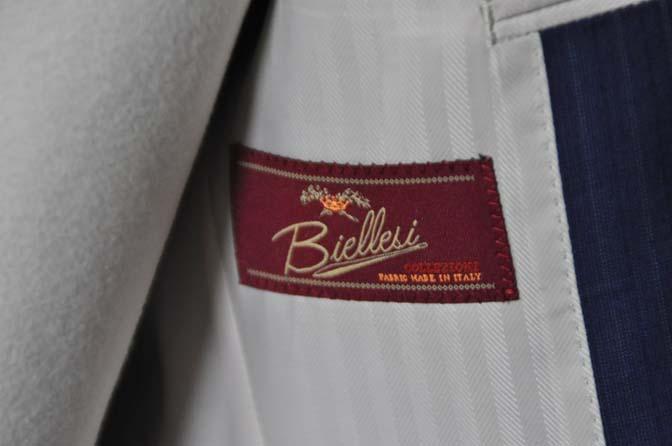 DSC0491-1 お客様のスーツの紹介- Biellesi ネイビーストライプスーツ- 名古屋の完全予約制オーダースーツ専門店DEFFERT