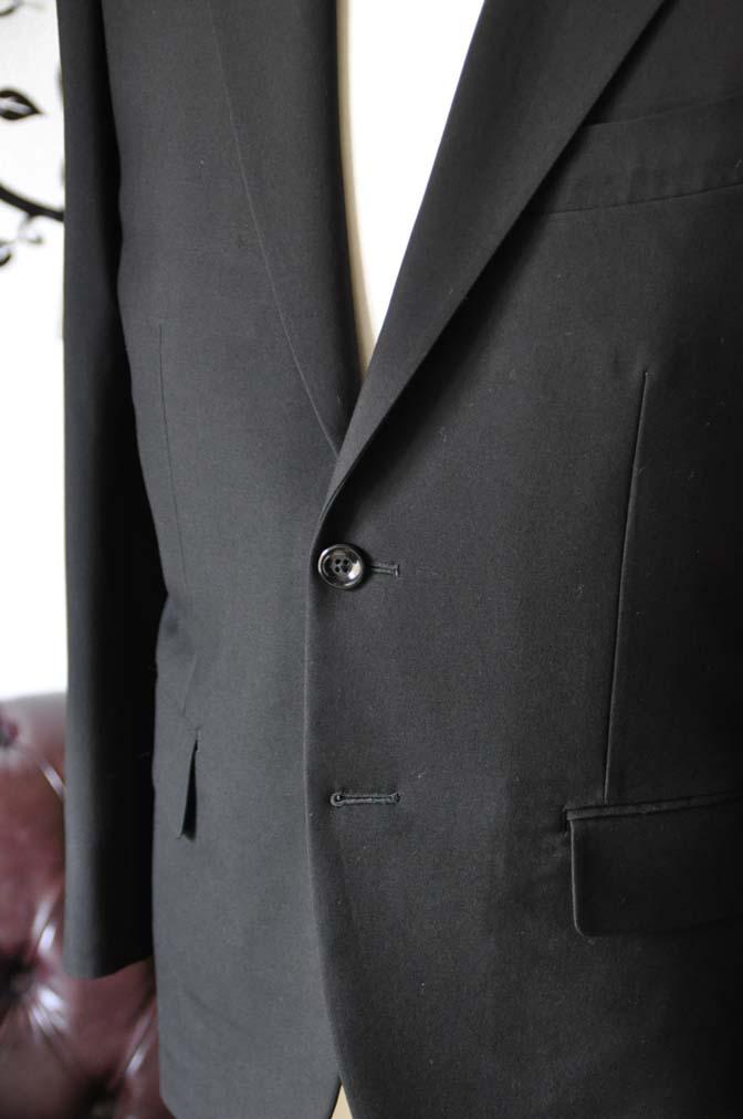 DSC0491-3 お客様のスーツの紹介-無地ブラックスーツ-