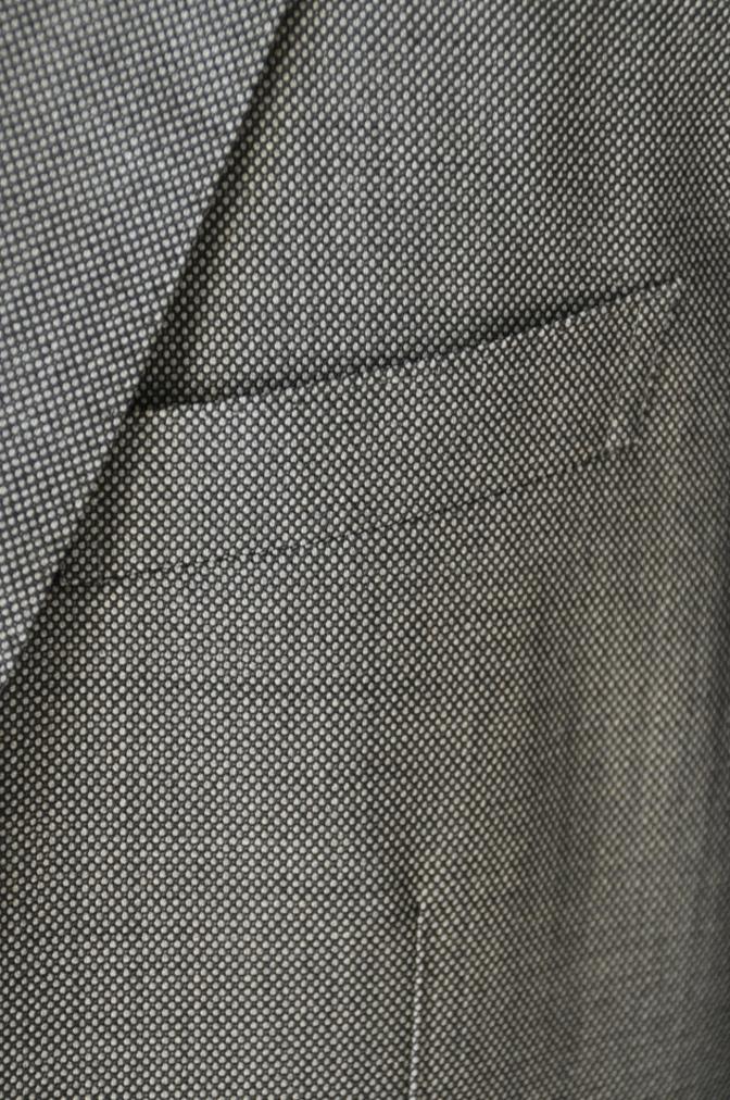 DSC04912 お客様のスーツの紹介-HOLLAND&SHERRY グレーバーズアイスリーピース-