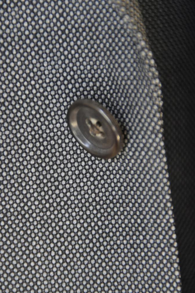 DSC04933 お客様のスーツの紹介-HOLLAND&SHERRY グレーバーズアイスリーピース-