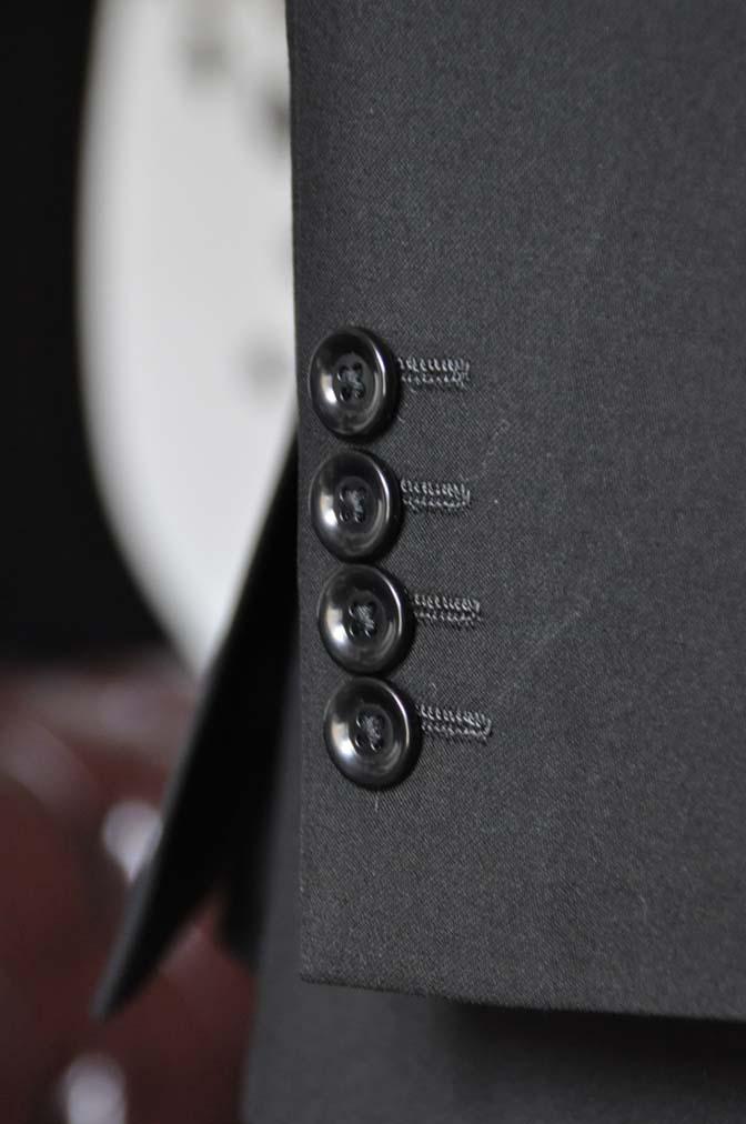 DSC0494-2 お客様のスーツの紹介-無地ブラックスーツ-