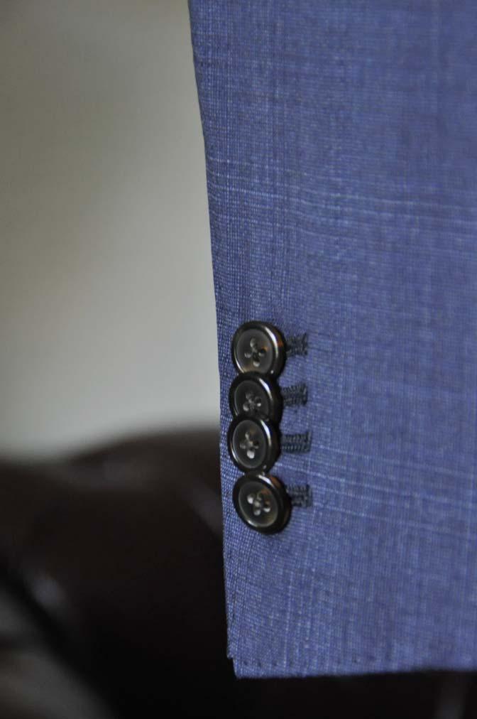 DSC0516-3 お客様のスーツの紹介- Biellesi ネイビーチェックスーツ-
