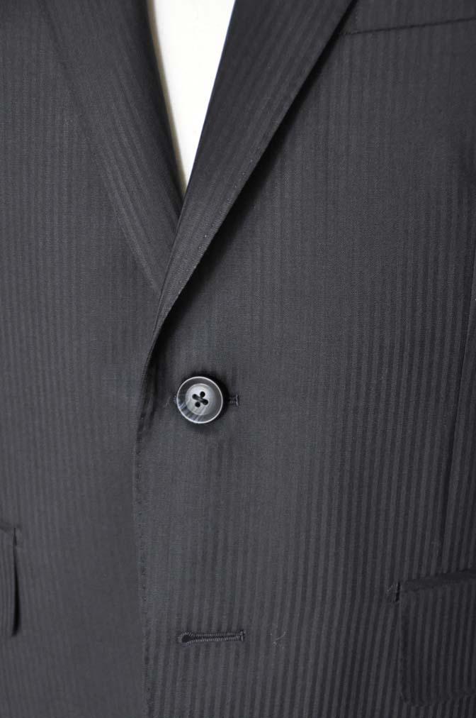 DSC05171 お客様のスーツの紹介-CANONICO ブラックヘリンボーン-