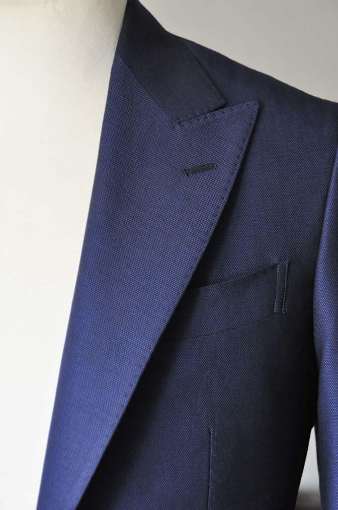 DSC0530-1 お客様のスーツの紹介- Biellesi ネイビーバーズアイ- 名古屋の完全予約制オーダースーツ専門店DEFFERT