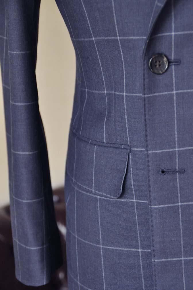 DSC0530-3 お客様のスーツの紹介-ネイビーウィンドペン ダブルスーツ-