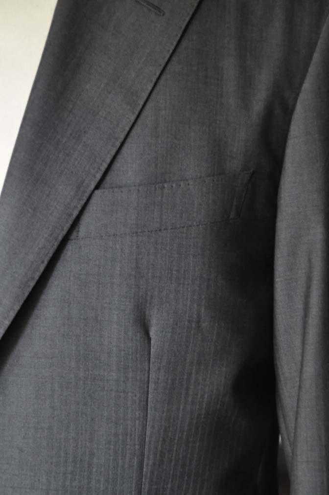 DSC05303 お客様のスーツの紹介-Biellesi グレーストライプ- 名古屋の完全予約制オーダースーツ専門店DEFFERT