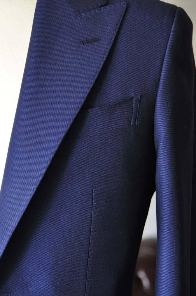 DSC0531-1 お客様のスーツの紹介- Biellesi ネイビーバーズアイ- 名古屋の完全予約制オーダースーツ専門店DEFFERT