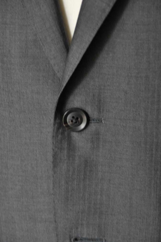 DSC05312 お客様のスーツの紹介-Biellesi グレーストライプ- 名古屋の完全予約制オーダースーツ専門店DEFFERT