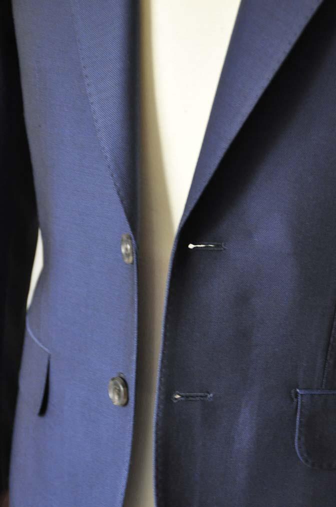 DSC0532-1 お客様のスーツの紹介- Biellesi ネイビーバーズアイ- 名古屋の完全予約制オーダースーツ専門店DEFFERT