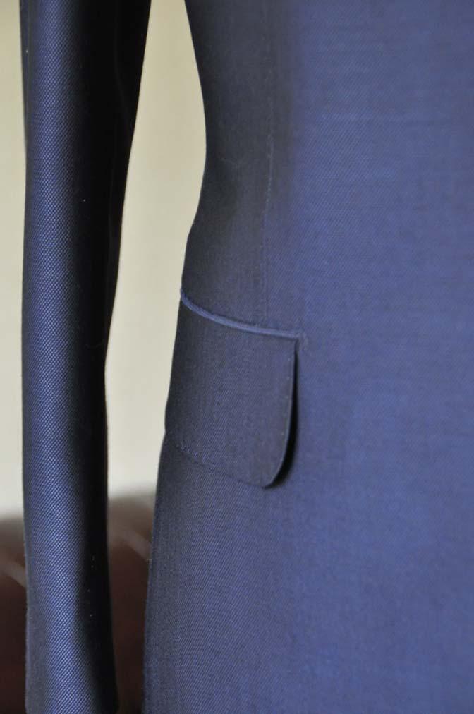 DSC0533-1 お客様のスーツの紹介- Biellesi ネイビーバーズアイ- 名古屋の完全予約制オーダースーツ専門店DEFFERT