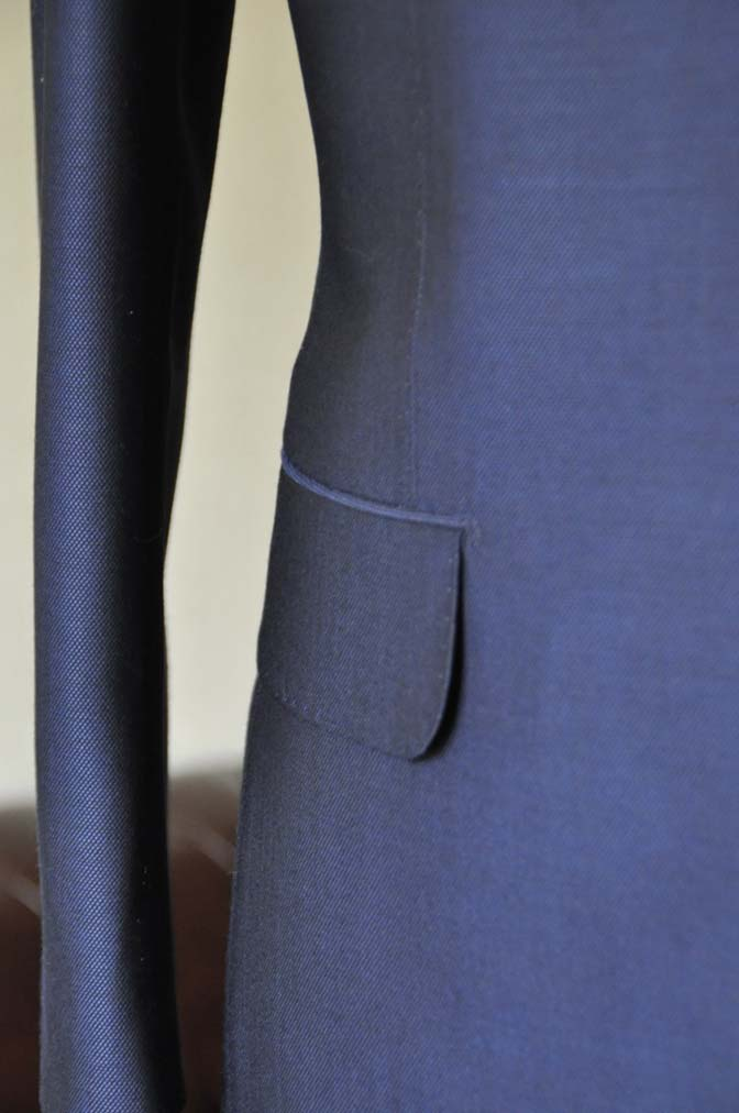 DSC0533-1 お客様のスーツの紹介- Biellesi ネイビーバーズアイ-