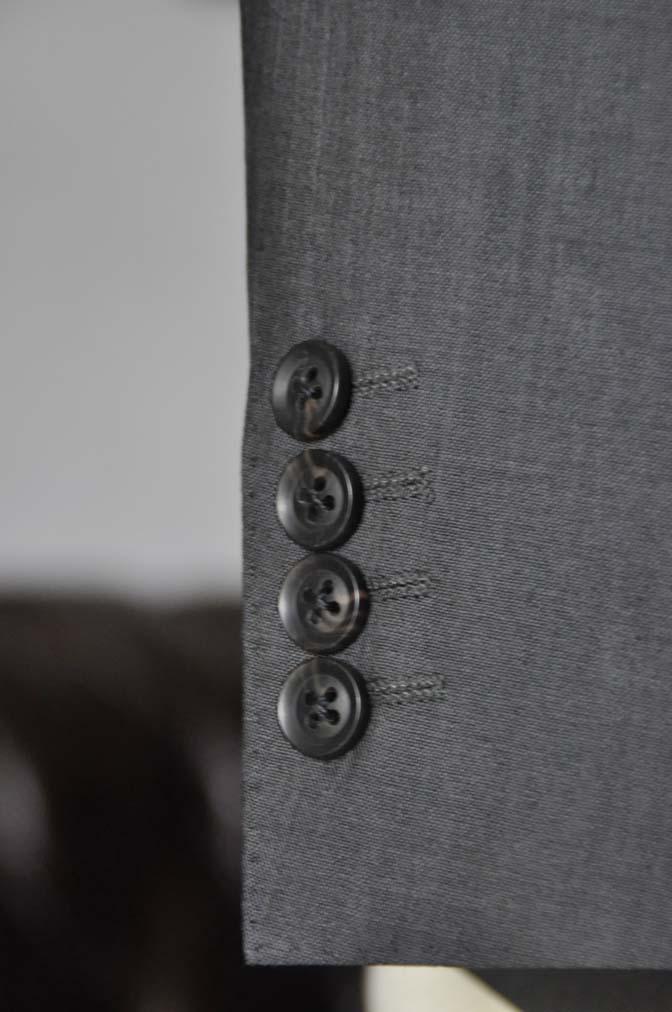 DSC05332 お客様のスーツの紹介-Biellesi グレーストライプ- 名古屋の完全予約制オーダースーツ専門店DEFFERT