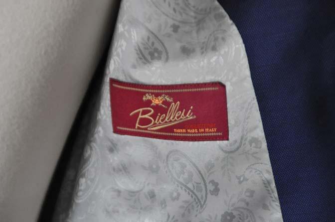 DSC0536-1 お客様のスーツの紹介- Biellesi ネイビーバーズアイ-