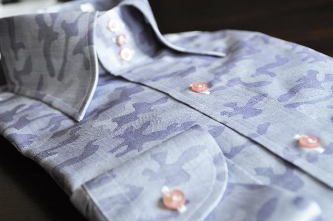 DSC0545 お客様のYシャツの紹介-迷彩トレボットーニ-