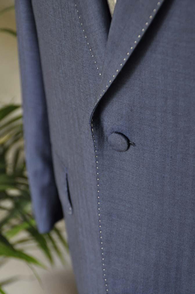 DSC05492 お客様のウエディング衣装の紹介-Biellesiネイビーヘリンボーン-